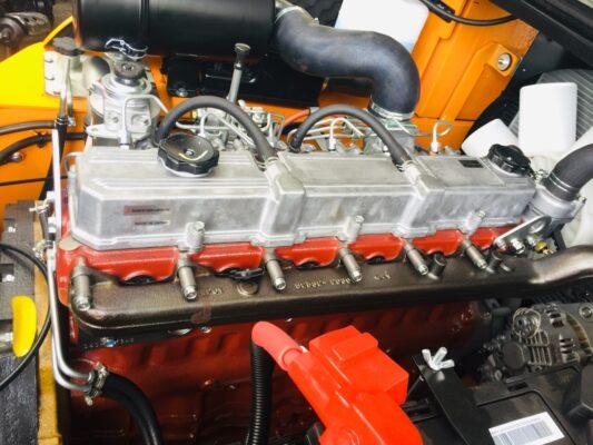 Động cơ Mitsubishi S4S lắp trên xe nâng Hangcha 2