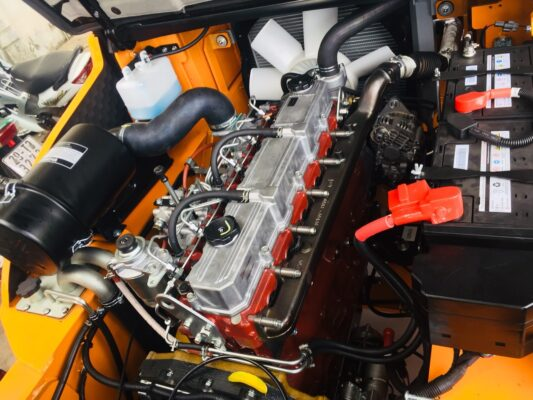 Động cơ mitsubishi lắp trên xe nâng Hangcha