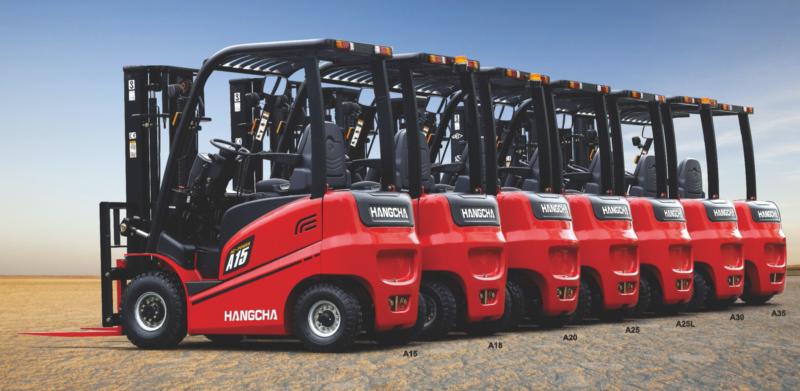 Xe nâng điện 1.5 - 1.8 tấn Hangcha