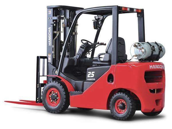 Xe nâng 2.5 tấn GAS:Xăng
