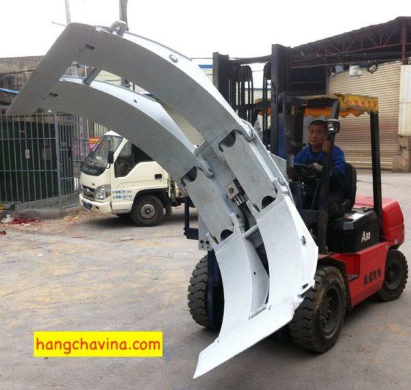 Xe nâng kẹp cuộn giấy Hangcha tại Việt Nam