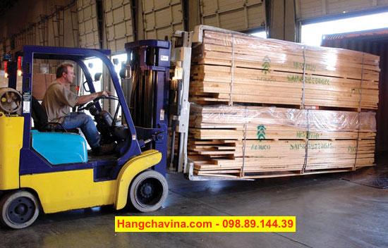 Xe nâng kẹp gỗ 5