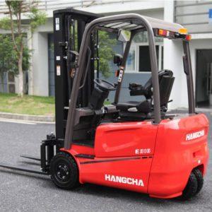 Xe nâng điện 3 bánh Hangcha mới