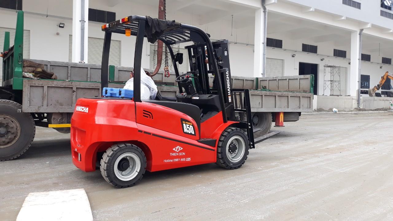 Xe nâng điện 5 tấn Hangcha mới 100% - CPD50 3