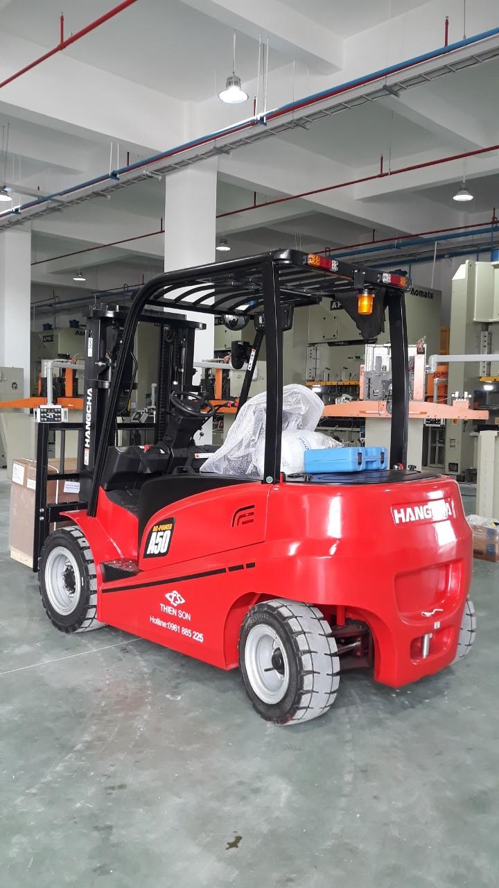 Xe nâng điện 5 tấn Hangcha mới 100% - CPD50 4