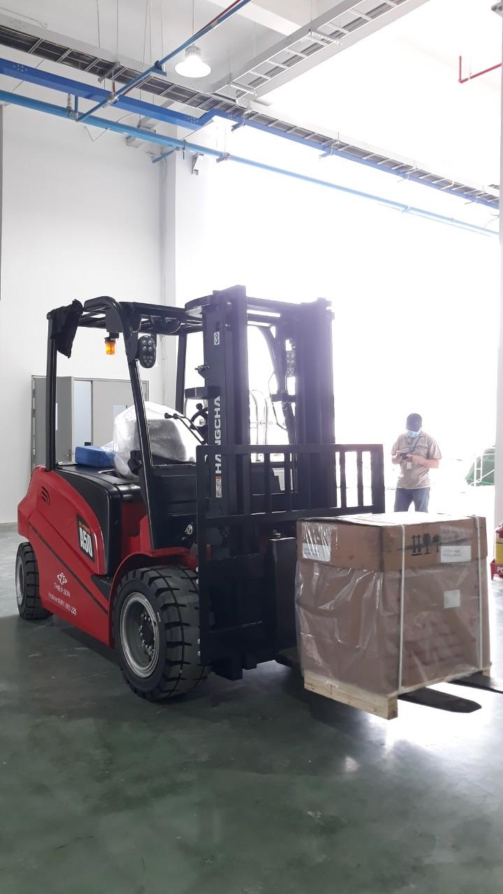 Xe nâng điện 5 tấn Hangcha mới 100% - CPD50 5