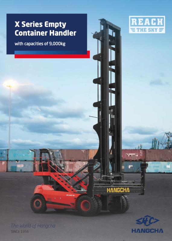 Xe nâng container rỗng 7 - 9 tấn - Xe nâng Hangcha