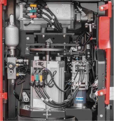 Hệ thống phanh của xe nâng điện đứng lái Hangcha