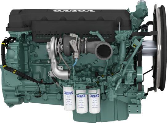 Động cơ Volvo TAD115VE cho xe nâng gắp container