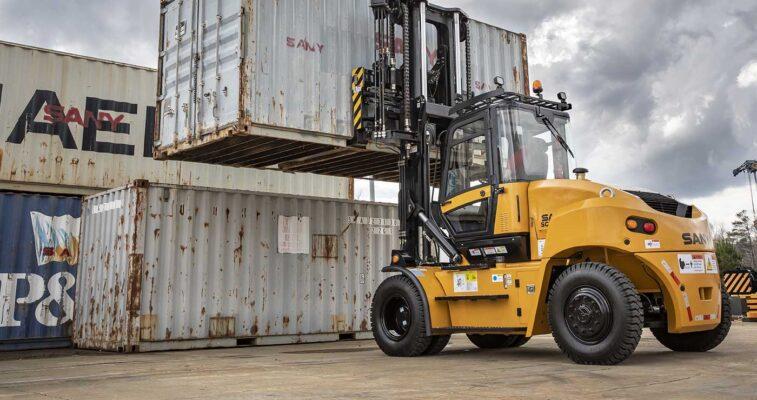 Xe nâng container chạy dầu diesel