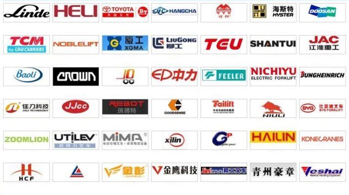 Các hãng xe nâng tại Trung quốc